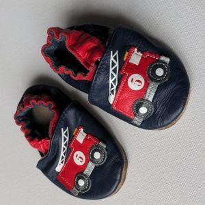 Firetruck Infant Robeez Soft Soles Shoes